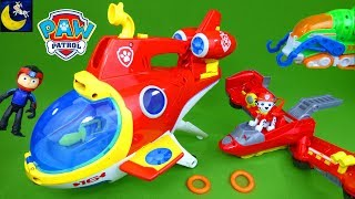 Paw Patrol Sub Patroller Toys Sea Patrol Vehicles Pups Flip and Fly Marshall Chase Rescue Toys 2018