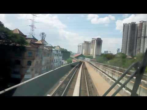 [NEW LRT Kelana Jaya Line] Bombardier Innovia Metro 300 Mark III (Gombak to Kelana Jaya)
