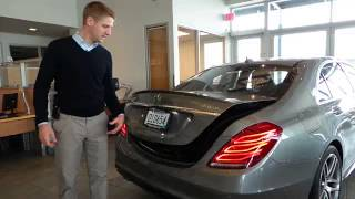 2014 Mercedes-Benz S-Class 4dr Sdn S550 4MATIC Minnetonka, Minneapolis, Bloomington Live