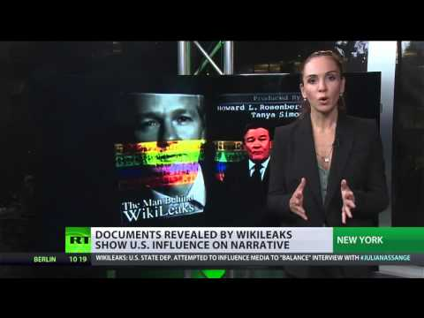 Wikileaks: US State Dept atempted to influence media to 'balance' interview w/ Assange