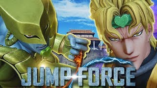 MAKING PLAYERS RAGE QUIT WITH DIO'S STAND! Dio Brando Gameplay - Jump Force Online Ranked