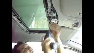 Teto solar no Peugeot 206 instalado na loja dubsom em Senhor do Bonfim BA e Petrolina PE