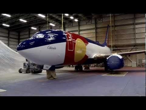 The making of Colorado One, a Southwest Airlines specialty aircraft