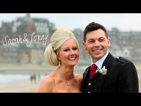 St Andrews Old Course wedding - Sarah & Jonny's Story Film