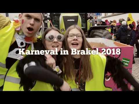 Karnevalsumzug in  Brakel 2018