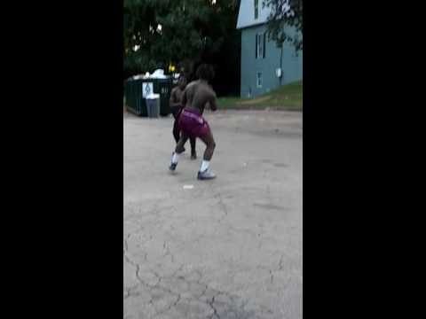 EASTSIDE OF ATLANTA CANDLER RD NIGGAS AINT PLAYING THEY BEAT HIS ASS N MADE HIM RUN HOME