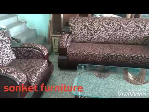 Charmant Plywood Handle Kushan Sofa
