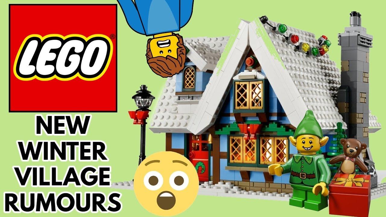 Lego Christmas Village 2020 NEW Lego Winter Village 10275 Elf Clubhouse 2020 Set Rumours