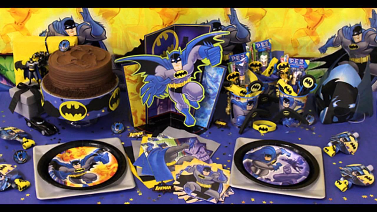 Batman birthday party ideas YouTube