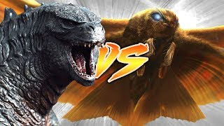 GODZILLA VS MOTHRA [Who Would Win?]