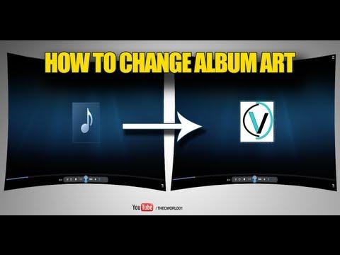 How to change Album Art