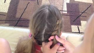 Плетение кос с Рианой Косичкеной. УРОК 2
