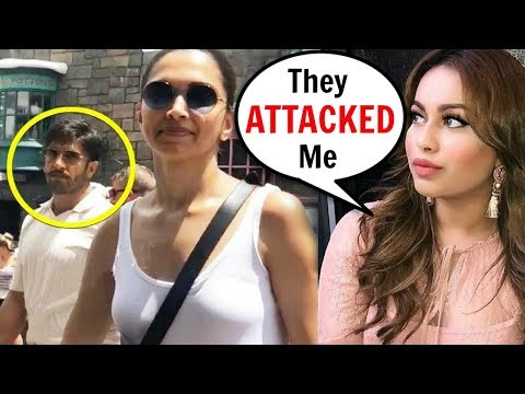Deepika Padukone And Ranveer Singh ATTACKED A FAN For Recording Them Hand In Hand In USA