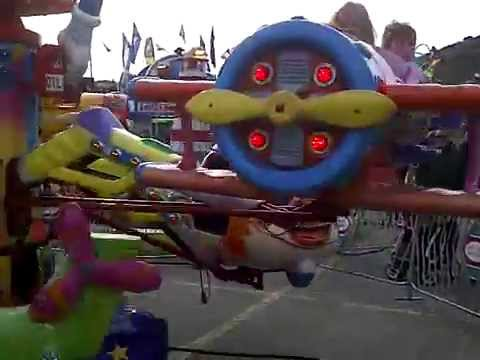 kids plane ride kamloops fair carnival