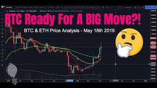 Is Bitcoin Getting Ready For A Big Move?! – BTC & Ethereum Price Analysis – May 18th 2019