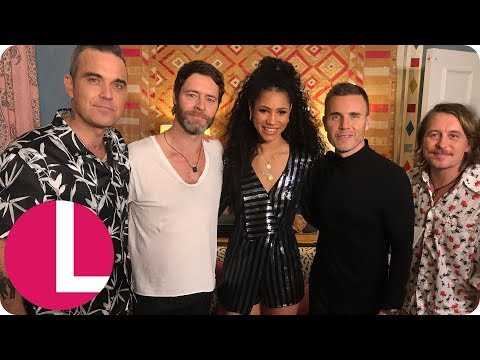 Robbie Williams Reveals He'd Like To Join Take That On Tour (Extended Interview) | Lorraine