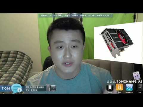 Medium Build PC $530 Gaming, Word Processing, HD Videos, Higher Performance