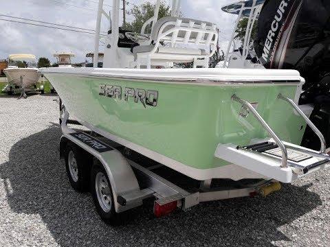 2018 Sea Pro 208DLX Boat For Sale at Marine Max Gulf Shores