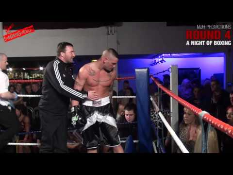 A NIGHT OF BOXING - Jason Hargreaves Vs James Cropper RBF Heavyweight Title.
