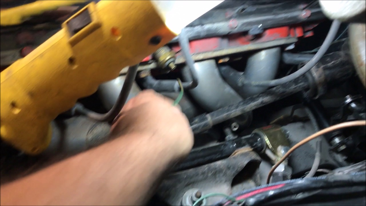 factory water temp gauge problems chevelle 7072 SS GM chevrolet  YouTube
