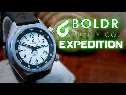Boldr Expedition Eiger Men's Wrist Watch Review