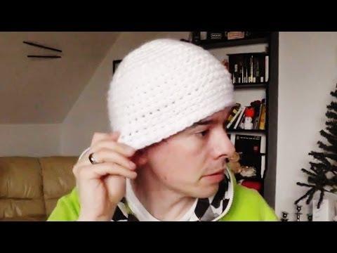 Mütze Häkelanleitung Feste Maschen Youtube