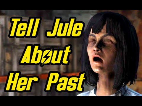 Fallout 4 Far Harbor - Tell Jule about her Past - Unyielding Synth Chest Reward - Price of Memory