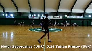 Handball. U17 boys. Sarius cup 2017. Motor Zaporozhye (UKR) - Tatran Presov (SVK) - 10:27 (2nd half)