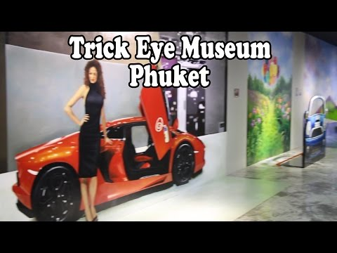 Trickeye Museum  PhuketTown. Family Fun in Phuket Thailand