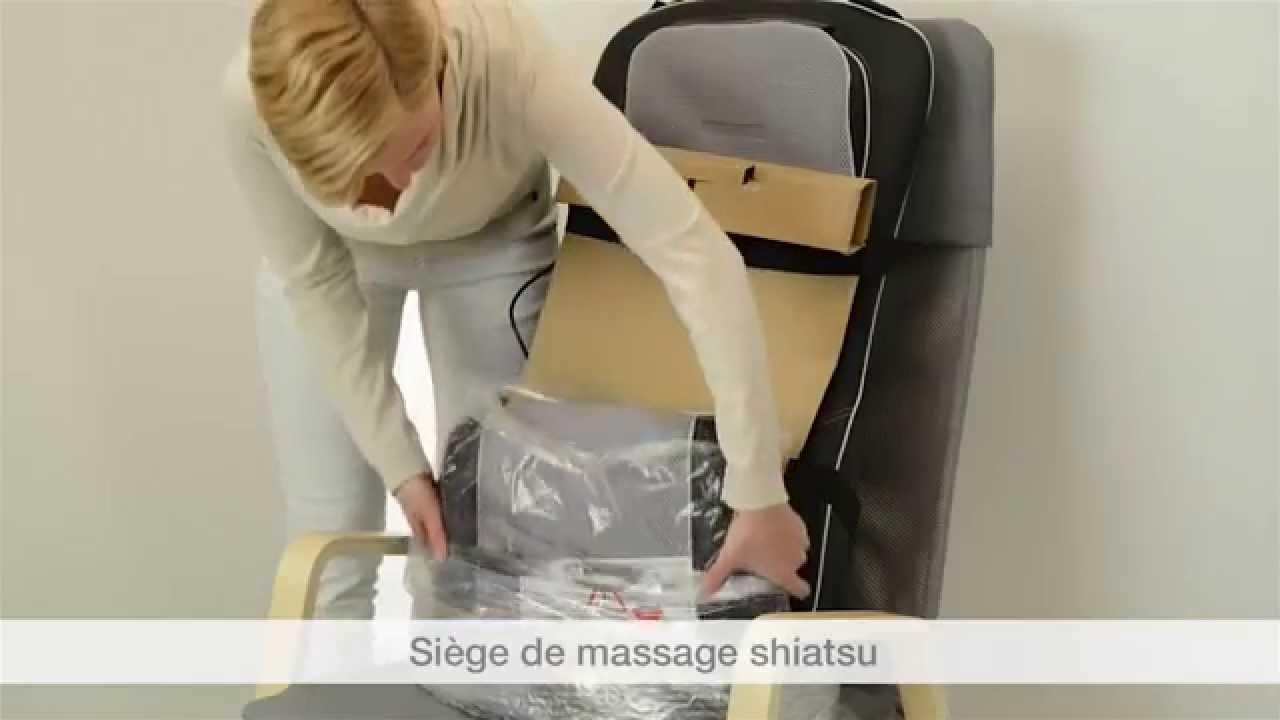mg 300 si ge de massage shiatsu youtube. Black Bedroom Furniture Sets. Home Design Ideas