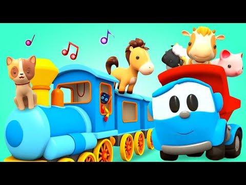 Как говорят животные для детей - Детские песни с Левой