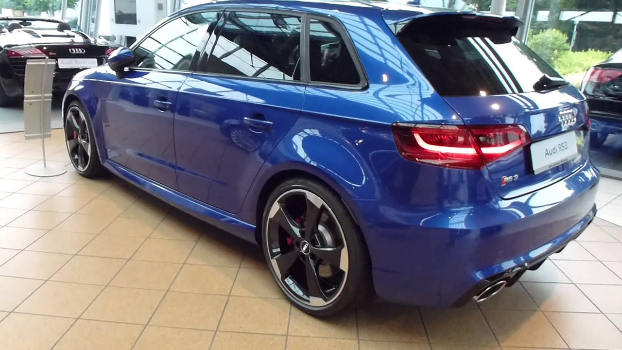 2015 audi rs3 sportback exterior interior 2 5 r5 turbo 367 hp 280 kmh 174 mph playlist youtube. Black Bedroom Furniture Sets. Home Design Ideas