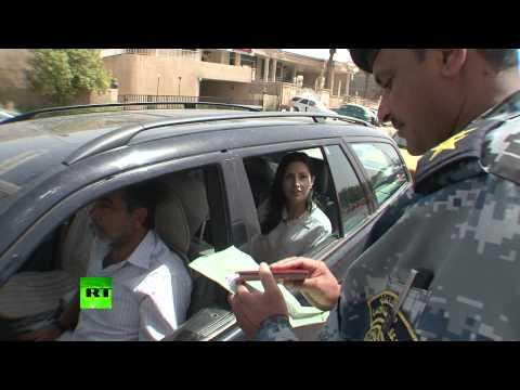 Life between checks: RT crosses Iraq security line