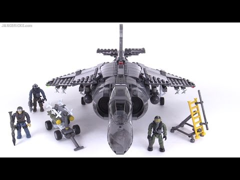 Mega Bloks Harrier II Call of Duty Combat Fighter review!