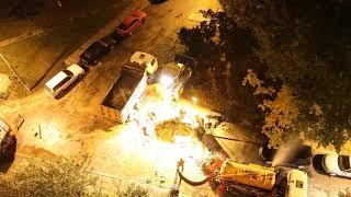 Гомельводоканал - ночные аварийные работы (5 октября 2017)