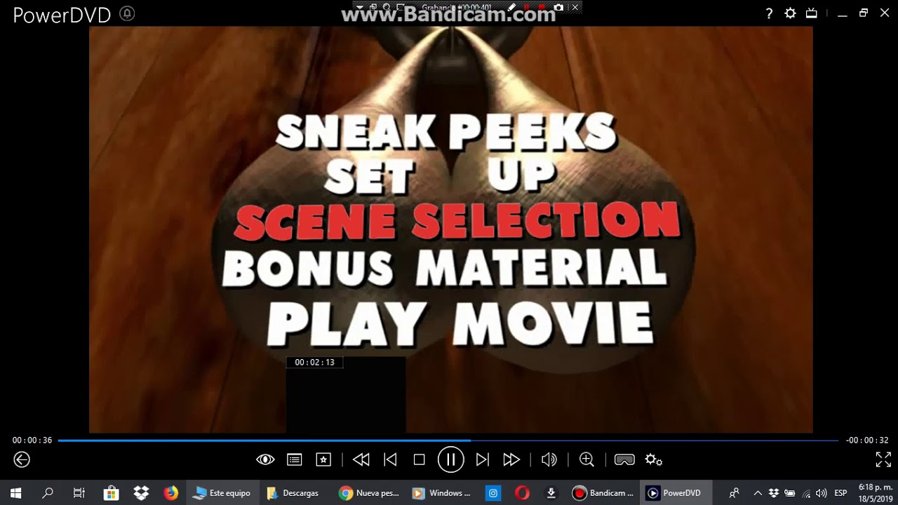 Menu From Scary Movie 2 2001 Dvd Youtube
