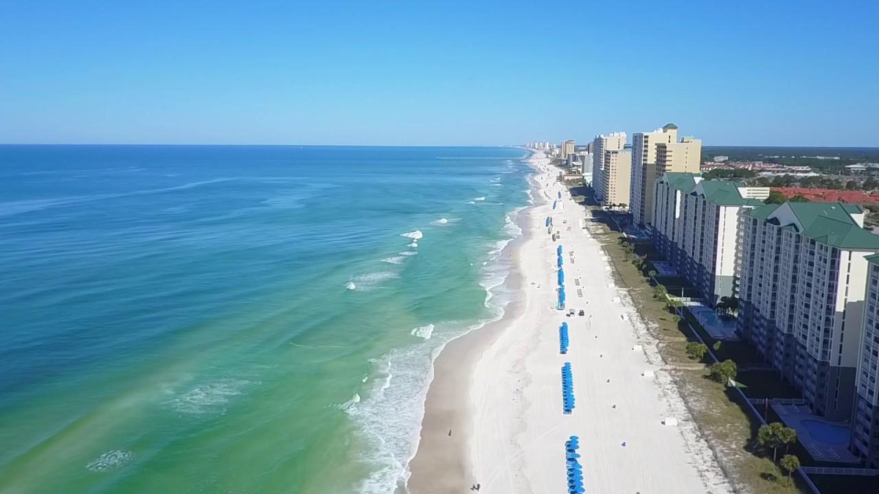 Panama City Beach Aerial Scenery Itrip Vacations Drone