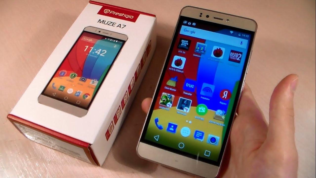 Prestigio MultiPhone 5507 DUO Обзор смартфона +тест игр - YouTube