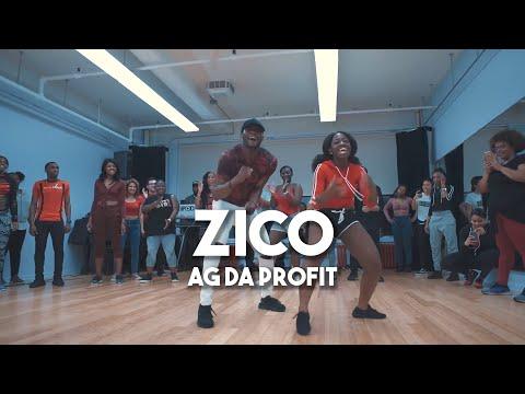 Ag Da Profit  Zico  Meka Oku & Marjo Bona Choreography NYC AFRO Class