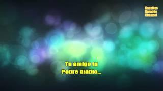 Karaoke - Pobre Diablo - Emmanuel