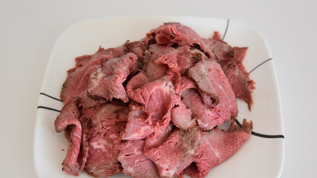 Roast Beef Recipe - How To Cook The Perfect Sliced Roast Beef ...