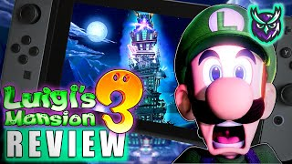Luigi's Mansion 3 Switch Review - Spooktacularly Good (Video Game Video Review)