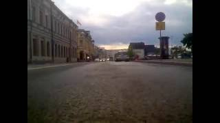 Ajo Oulussa Toppilasta torille