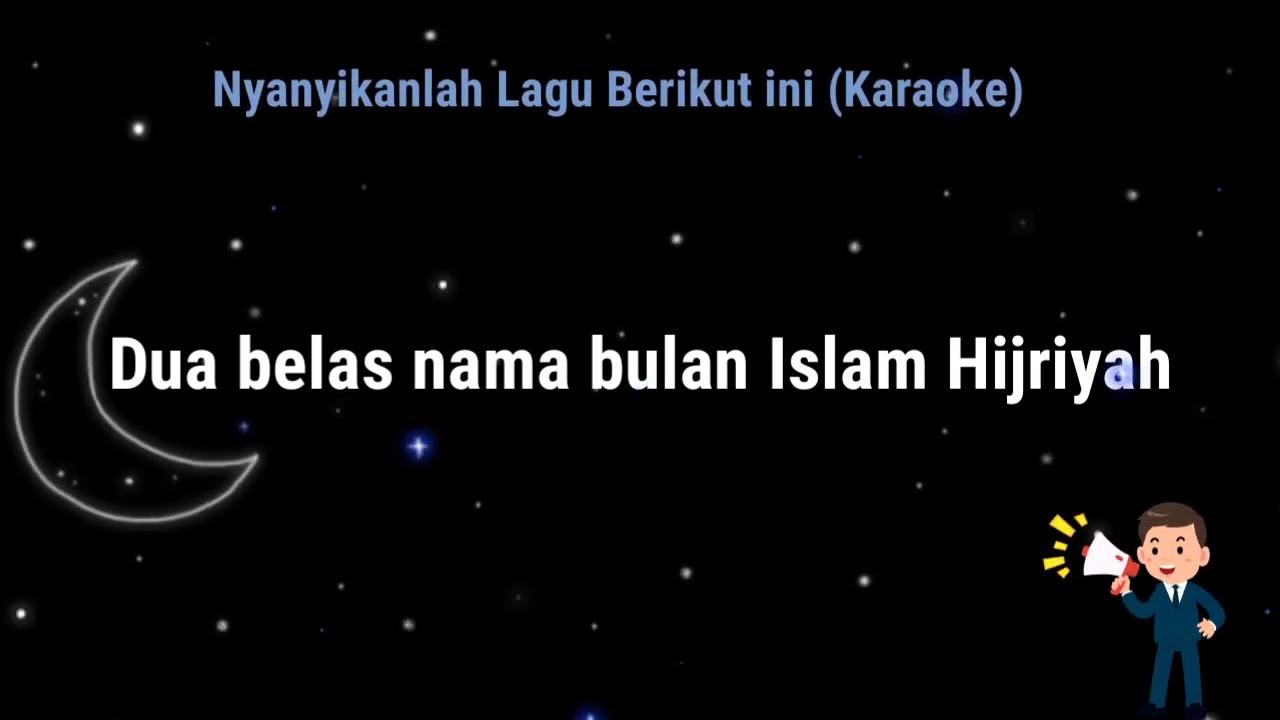 Nama Bulan Hijriyah + Lirik + Karaoke / Minus One