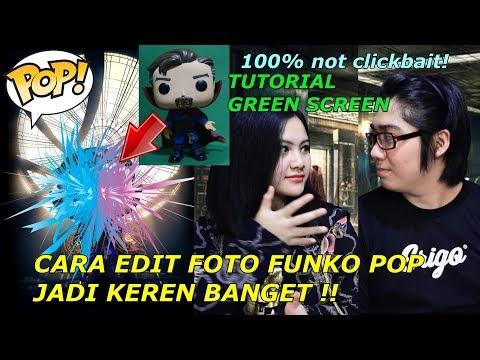 Tutorial Green Screen Gampangbgt! 100% NOT CLICKBAIT! Dijamin Langsung Ngerti! | Funko POP Indonesia