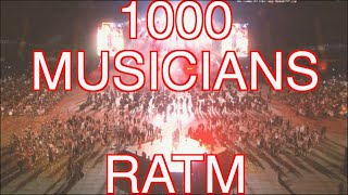 1000 MUSICIANS PLAY RAGE AGAINST THE MACHINE - LIVE COVER - Rockin 1000