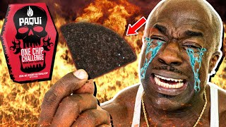 WORLD'S HOTTEST CHIP |  PAQUI ONE CHIP CHALLENGE (GONE WRONG) -  Kali Muscle