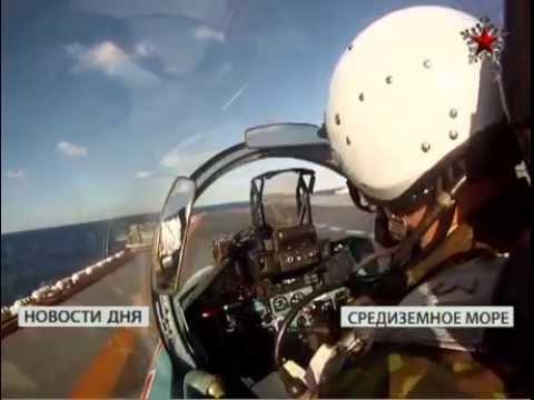 ТАВКР «Адмирал Кузнецов». Полёты палубной авиации