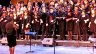 """Ride on King Jesus"" - York University Gospel Choir  - April 2011 -"