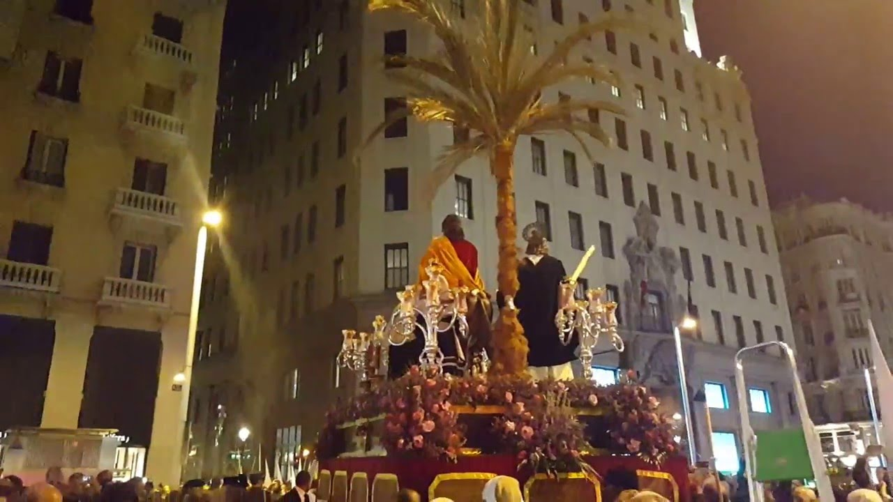 Resultado de imagen de procesion de la borriquita de madrid 2016